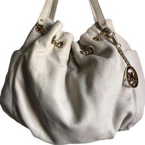 Michael Kors White Shoulder Bag